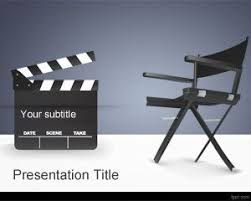 Movie Powerpoint Template Movie Director Powerpoint Template Is A Free Movies Ppt