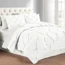 white king quilt set.  White Pintuck Comforter Set Intended White King Quilt E