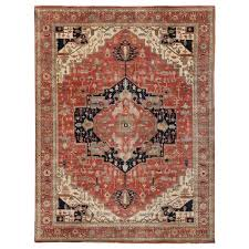 fine serapi hand knotted wool red area rug by exquisite rugs exquisite rugs