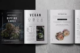 Graphic Design Process Book Template Cookbook Recipe Book By Bons On Creativemarket Cookbook