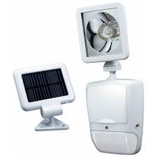 heath zenith 180 degree white motion sensing solar powered led outdoor security light