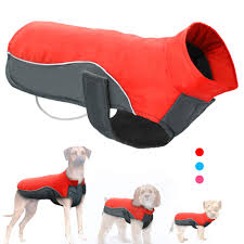 Didog Reflective Dog Winter Coat Sport Vest Jackets Snowsuit Apparel 8 For Small Medium Large Dogs