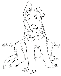realistic puppy coloring pages. Exellent Realistic Coloring Shepherd Coloring Pages Golden Retriever Realistic Puppy Cute To A