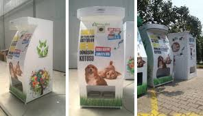 Dog Vending Machine Beauteous Turkish Stray Dog Feeding Machine A Model For Social Design