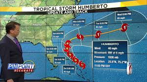 Latest track, models: Tropical system strengthens to Tropical Storm ...