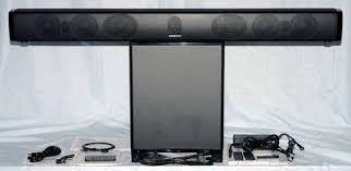 onkyo soundbar. onkyo ls-b50 sound bar system package soundbar