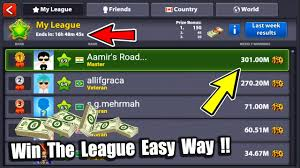 How To Win The League In 8 Ball Pool Earn Cash Gaining 100m Coins Tips No Hacks