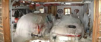 small garage doorDont leave your garage door open in a blizzard  Bits and Pieces