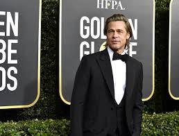 Brad Pitt at the 2020 Golden Globes