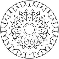 Mandalas for BEGINNERS - Coloring pages - Printable Coloring Pages ...