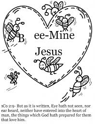 Awesome Collection Of Focus Christian Valentine Coloring Pages Bible