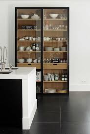 cabinet design. Two Colour Wood Glass Kitchen Cabinets Could This Be Done For Storage Using Ikea Pax Cabinet Design
