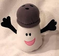 mr salt blues clues. Viacom Blues Clues Mr Salt Plush Stuffed Toy That Rattles 5\