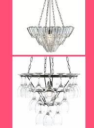 the top chandelier comes in various sizes and is constructed from old style milk bottles find it in various sizes at for 174 99 made by