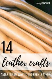 are you ready to see 15 awesome leather craft ideas