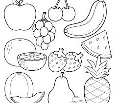 Free Fruit Coloring Sheets Coloring Pages