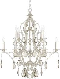 capital lighting 4180as pc blakely antique silver ceiling chandelier loading zoom