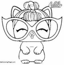 It Kitty From Lol Surprise Doll Coloring Pages Lol Pets Get