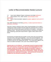 Letters Of Recommendation For Graduate School 38 Personal