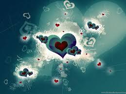 3d Wallpapers Love Heart Desktop Background