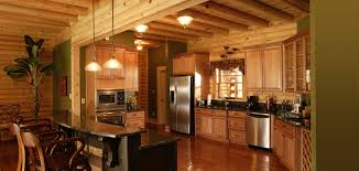 Log Cabin Kitchen Decor Log Home Decorating Ideas Images Log Homes Cabins Custom