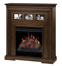 37 5 inch dimplex acadian walnut electric fireplace cherish the memories