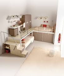 Teenager Beds Design with Brown Themes