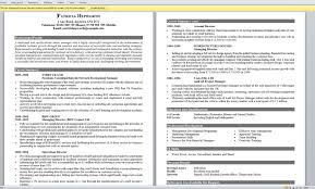 Resume Templates Examples Of Good Cv Exceptional A For Highschool