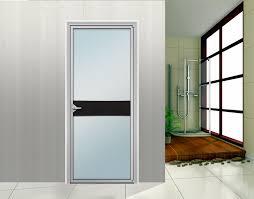 Glass office doors aluminum door and window for bathroom luxury