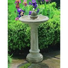 campania international fountains. Modren International Campania International Acorn Bird Bath Fountain Inside Fountains A