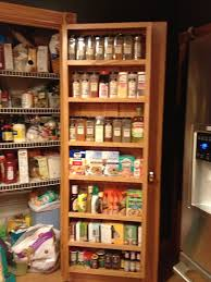 pantry door shelving unit e rack inside pantry door this one is deep enough for the