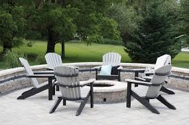adirondack chairs around fire pit. Fine Around Best Of Adirondack Chairs Around Fire Pit Comfo Back Throughout  With And