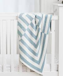 Light Blue Baby Blanket Light Blue White Aquino Patterned Baby Blanket