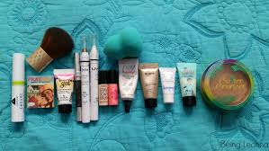 travel makeup bag essentials being leanna