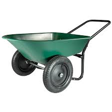 garden cart lowes. Marathon 5-cu Ft Poly Wheelbarrow Garden Cart Lowes E