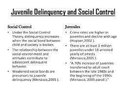 essays on juvenile delinquency juvenile crime essay essays on  juvenile delinquency essays gxart orgsocial control theorycore values juvenile delinquency