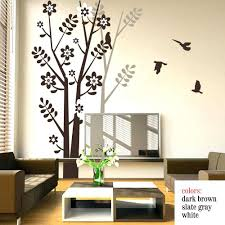 wall sticker ideas for living room including outstanding bedroom 2018