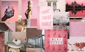 Pink Collage Desktop Wallpapers - Top ...