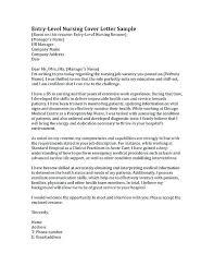 Graduate Nurse Cover Letter Sample Nursing Cover Letter Samples