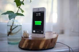 diy wooden charging dock phone charging station