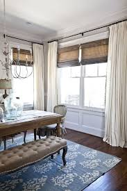 Curtains for the dining room- However, I'd have all of the panels