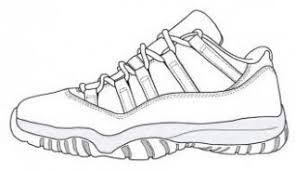 Nike Air Jordan Colouring Pages Nike Air Jordan Shoes At Just