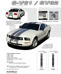 2005 Mustang Color Chart