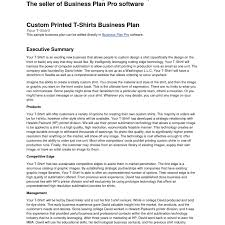 Bussines Plan Executive Summary Business Gallery Of Sample Report