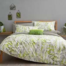 prairie grass print bedding  green bedding at bedeck
