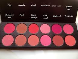the bridal hairstylist la femme blush swatches pt 2 makeup kitbridal