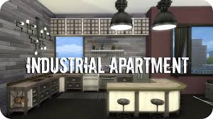 Sims  City Living Industrial Apartment YouTube - Industrial apartment