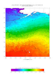 Free Sst Charts Sea Surface Temperature Sst Contour Charts Office Of