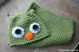 Free Owl Cocoon Crochet Pattern Fascinating A[mi]dorable Crochet Whowhowants A Free Pattern