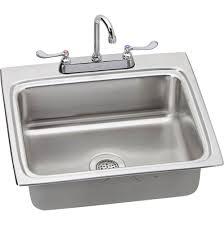 Shop Dekor Master 22in X 25in Black SingleBasin Granite Dropin 25 X 22 Kitchen Sink